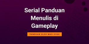 Cover Menulis di Gameplay