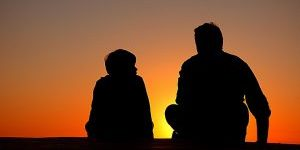 Siluet Anak Kecil & Remaja